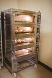 Petits pains de pain faisant cuire au four en four Photos libres de droits