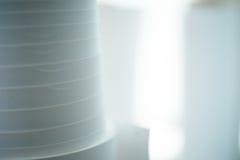 Petits pains de papier de magasin d'estampes Photos libres de droits