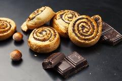 Petits pains de pavot photo stock