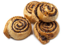 Petits pains de pavot photographie stock libre de droits