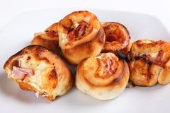 Petits pains de pizza Image libre de droits