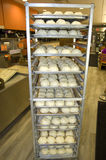 Petits pains de poulet Photo stock