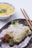 Petits pains de ressort asiatiques de nourriture image libre de droits