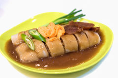 Petits pains de ressort frais thaïlandais images libres de droits