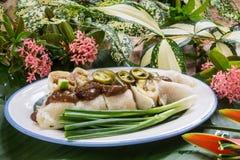 Petits pains de ressort thaïlandais de style ou Popiah Photographie stock libre de droits