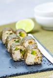 Petits pains de sushi faits maison de vegan de Vegan Photos libres de droits