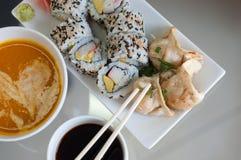 Petits pains de sushi Image libre de droits