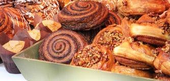 Petits pains doux à vendre Photographie stock libre de droits