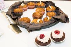 Petits pains et petits gâteaux Photo stock
