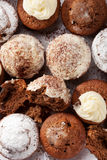 Petits pains faits maison cuits au four Images libres de droits