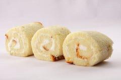 Petits pains faits maison de gâteau mousseline Photos libres de droits