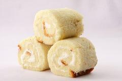 Petits pains faits maison de gâteau mousseline Image stock
