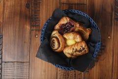 Petits pains faits maison doux Image libre de droits