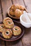 Petits pains faits maison frais Photo stock