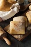 Petits pains faits maison frais de ciabatta Photos stock