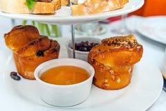 Petits pains mous de brioche Photos stock