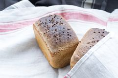 Petits pains pour des hamburgers photographie stock