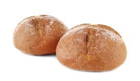 Petits pains savoureux frais d'isolement images stock
