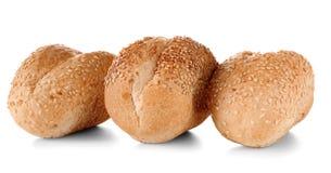 Petits pains savoureux frais d'isolement image libre de droits