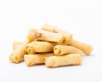 Petits petits pains de ressort chinois photographie stock libre de droits