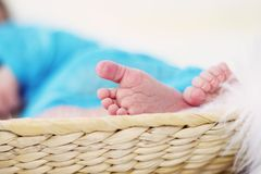 Petits pieds Photographie stock