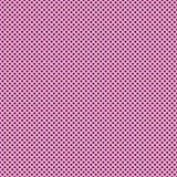 Petits points de polka de Brown sur le papier rose Image libre de droits