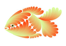 Petits poissons d'or Illustration Stock