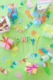 Petits présents colorés Photo stock