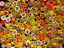 Petits programmes jaunes Photographie stock