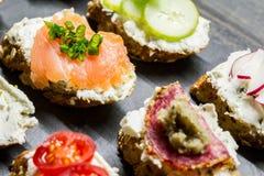 Petits sandwichs Images stock