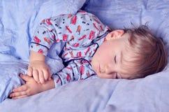 Petits sommeils d'enfant Photos libres de droits