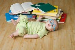 Petits sommeils de lecteur photo libre de droits