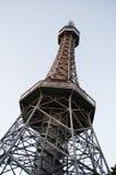 Petřín Lookout Tower Stock Photo