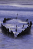 Peto de los SS hundido por marea y las tormentas del rey Imagenes de archivo