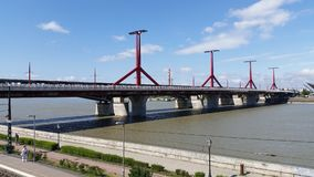 Petofi Bridge Budapest Stock Photography