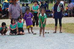 Petong competition. Within rural,thailand Stock Image