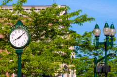 Petoskey clock Royalty Free Stock Image