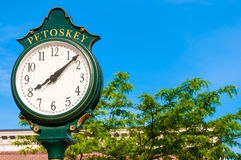 Petoskey time Stock Images