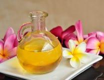 Petróleo aromático da massagem Fotografia de Stock Royalty Free