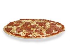 Petróleo bruto de Diavolo de la pizza Fotografía de archivo