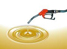 petróleo cru ilustração stock