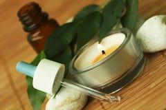 Petróleo de Aromatherapy Imágenes de archivo libres de regalías
