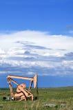 Petróleo de bombeo en los E.E.U.U. Imagenes de archivo