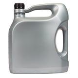 Petróleo de motor de cinco litros Imagem de Stock