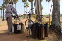 Petróleo de palma 2 Foto de Stock Royalty Free