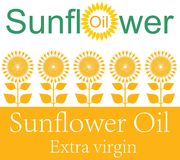 Petróleo de Unflower Fotografia de Stock Royalty Free