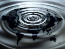 Petróleo del mundo Imagen de archivo