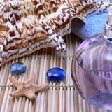 Petróleo del shell y del aroma Imagen de archivo