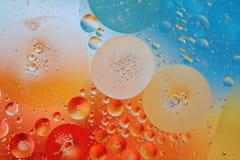 Petróleo e água Imagens de Stock Royalty Free