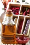 Petróleo e artigos aromáticos Fotografia de Stock